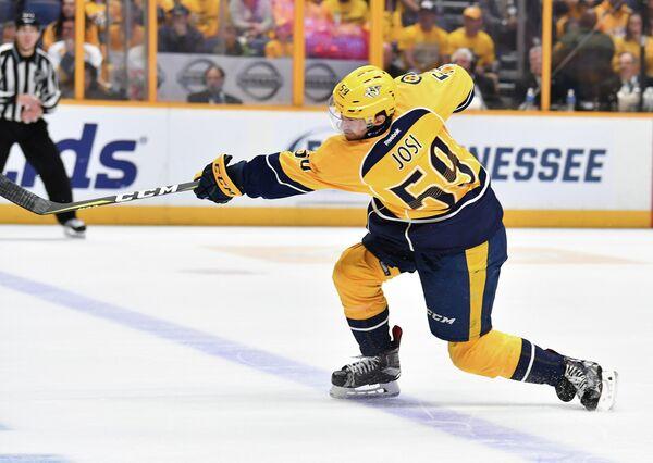 Защитник клуба НХЛ Нэшвилл Предаторз Роман Йоси