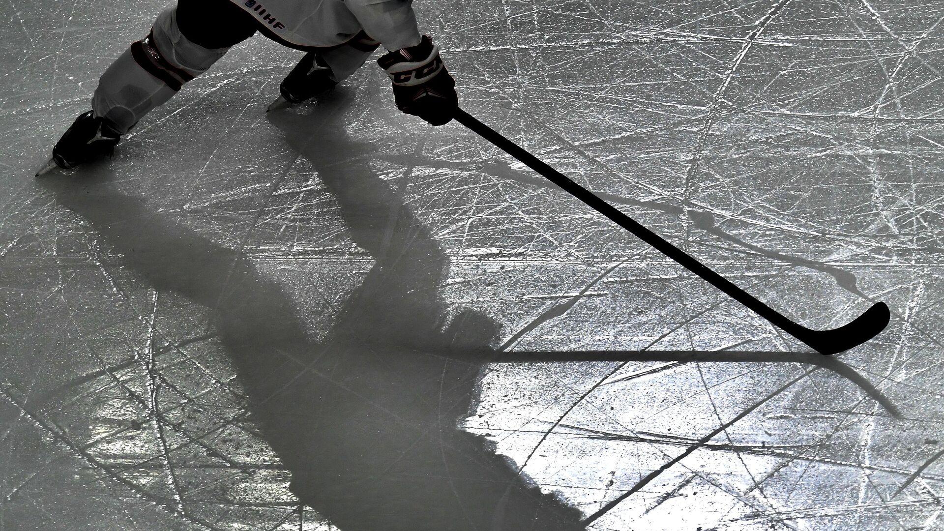 Хоккеист во время матча - РИА Новости, 1920, 13.06.2021