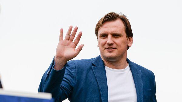Бывший игрок сборной России Дмитрий Булыкин