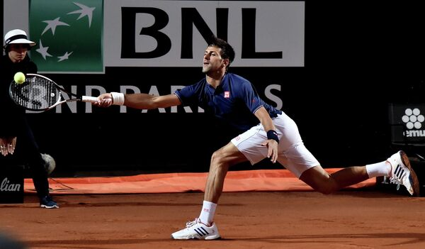 Сербский теннисист Новак Джокович