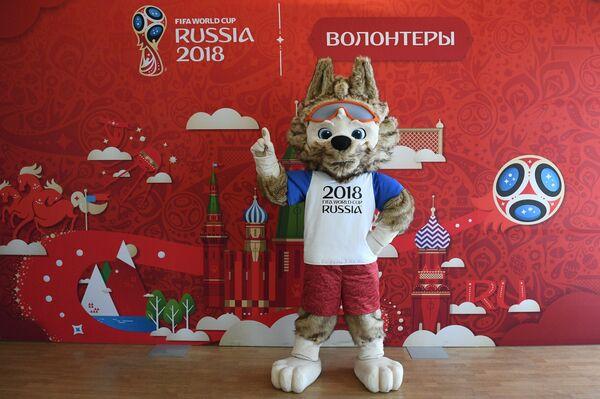 Официальный талисман чемпионата мира по футболу 2018 года Забивака