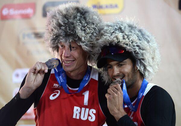 Вячеслав Красильников и Никита Лямин (справа налево)