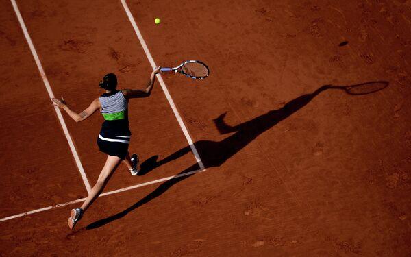 Теннис. Ролан Гаррос. Девятый день