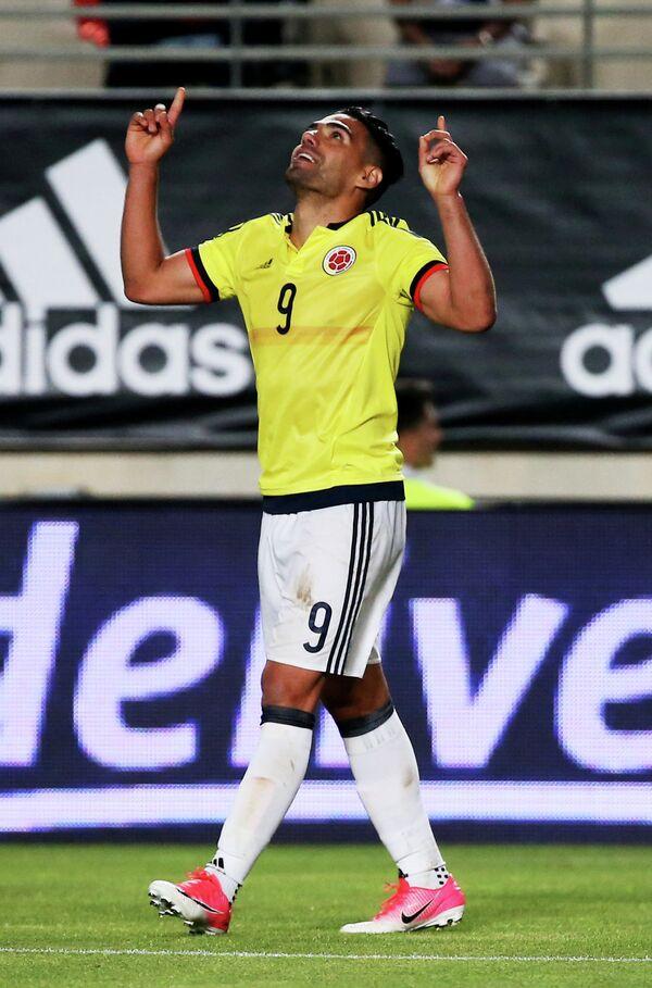 Нападающий сборной Колумбии Радамель Фалькао