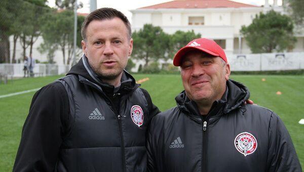 Андрей Каряка (слева) и Арслан Халимбеков