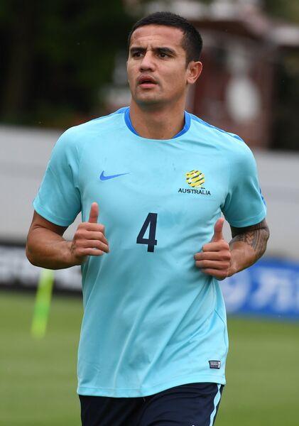 Полузащитник сборной Австралии по футболу Тим Кэхилл