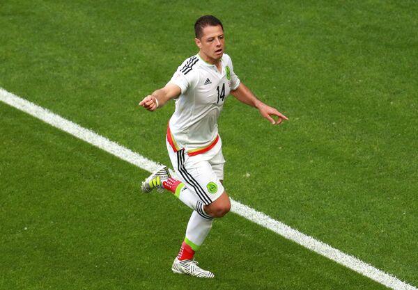Форвард сборной Мексики по футболу Хавьер Эрнандес