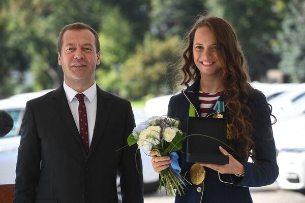 Дмитрий Медведев и Гелена Топилина