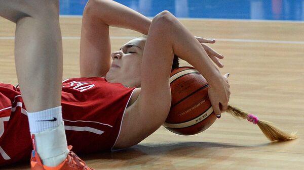 Баскетболистки сборной России проиграли француженкам на турнире в Ренне