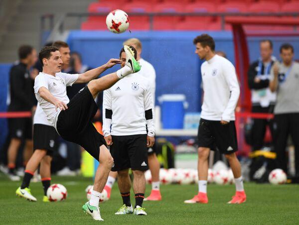Полузащитник сборной Германии Себастьян Руди