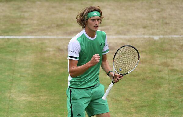 Немецкий теннисист Александр Зверев