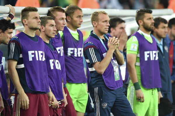 Футболисты сборной России на чемпионате мира 2014 года