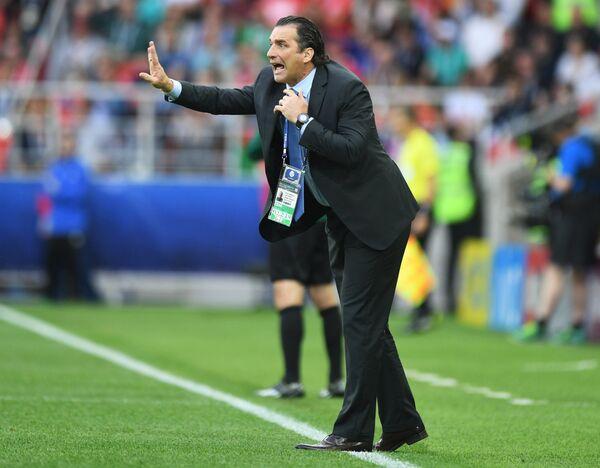 Главный тренер сборной Чили Хуан Антонио Пицци
