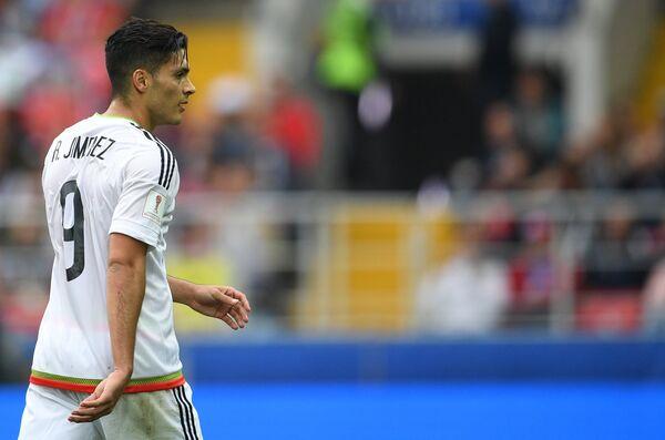 Нападающий сборной Мексики Рауль Хименес