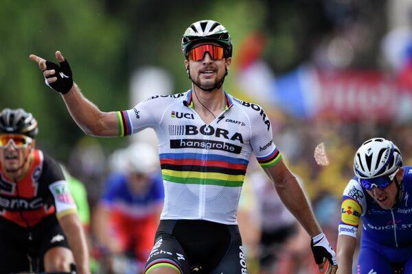 Словацкий велогонщик Петер Саган из команды Bora-Hansgrohe