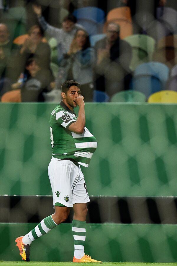 Нападающий лиссабонского Спортинга Алан Руис