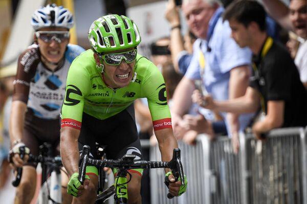 Колумбийский велогонщик Cannondale-Drapac Ригоберто Уран