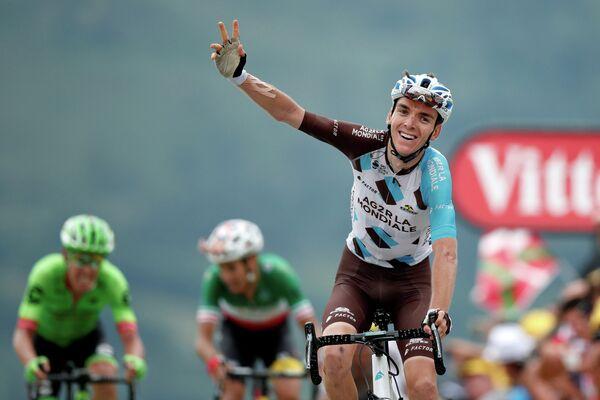 Французский велогонщик Ромен Барде