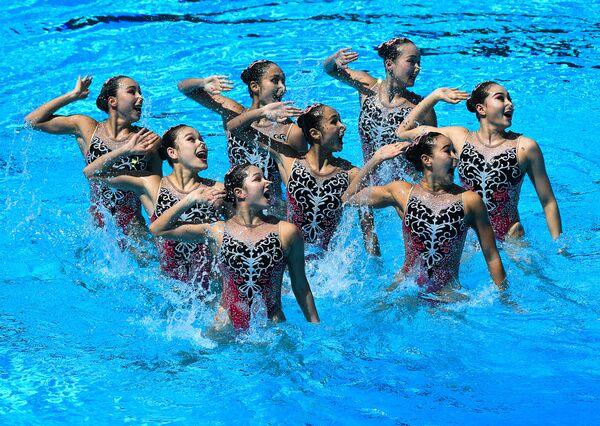 Синхронистки сборной Китая