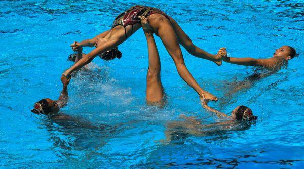 Синхронистки сборной Испании
