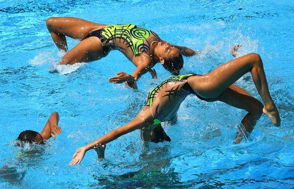Синхронистки сборной Италии