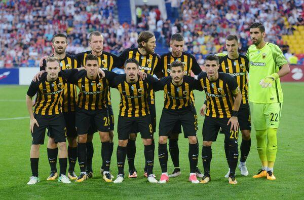 Футболисты АЕКа