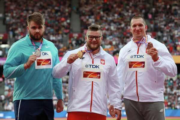 Валерий Пронкин, Павел Файдек и Войцех Новицкий (слева направо)