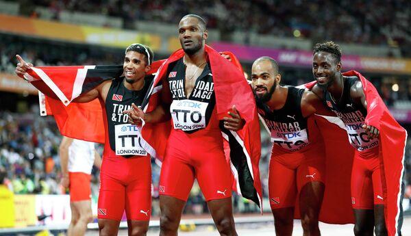 Спортсмены сборной Тринидада и Тобаго по легкой атлетике