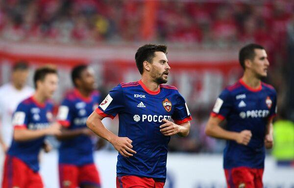 Защитник ЦСКА Георгий Щенников
