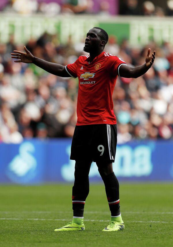 Нападающий английского Манчестер Юнайтед Ромелу Лукаку