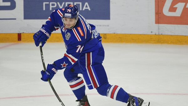 Нападающий СКА Николай Прохоркин