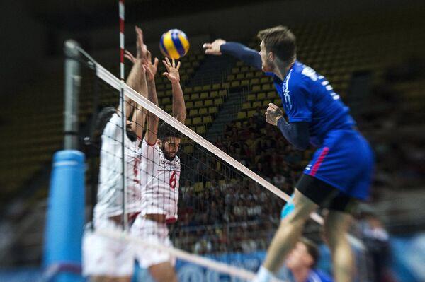 Волейбол. Товарищеский матч. Россия - Иран