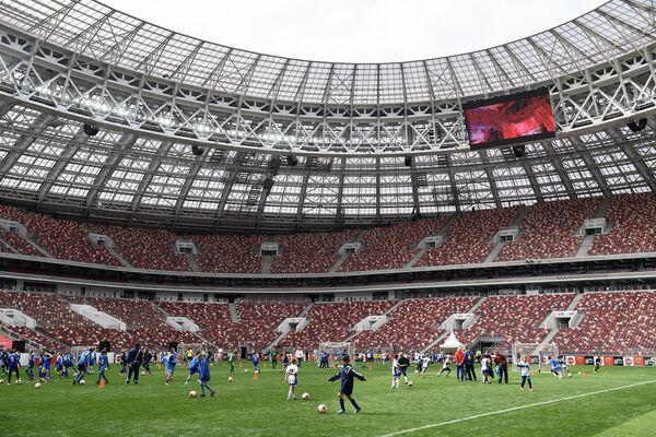 Старт тура Кубка ЧМ-2018 по футболу