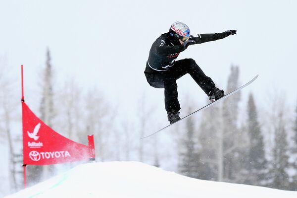Австралийский сноубордист Алекс Пуллин