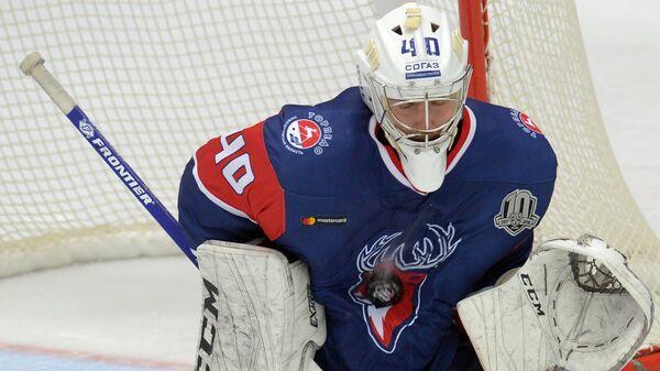 Вратарь ХК Торпедо Станислав Галимов