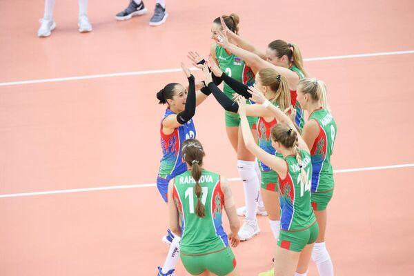 Волейболистки сборной Азербайджана