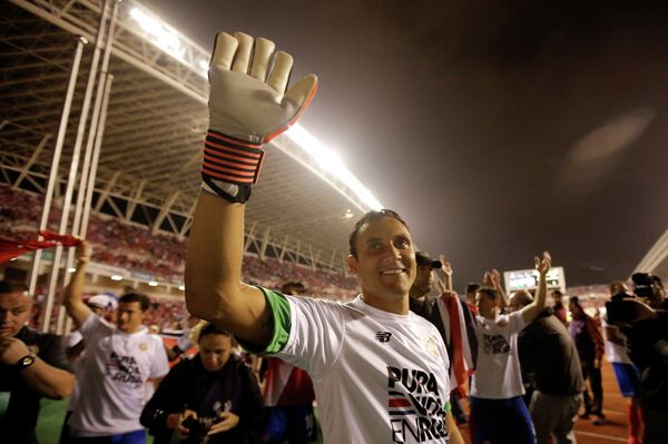 Вратарь сборной Коста-Рики по футболу Кейлор Навас