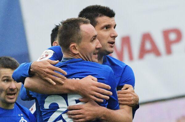 Справа налево: Фатос Бечирай и Алексей Козлов