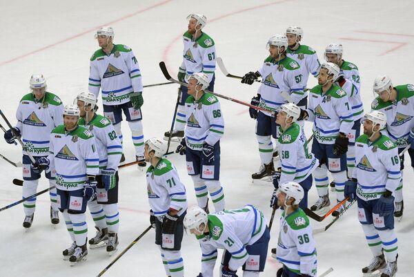 Игроки ХК Салават Юлаев