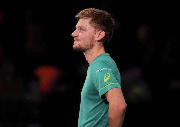 Бельгийский теннисист Давид Гоффен