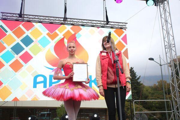 Победительницей конкурса Юный спортивный журналист стала Елизавета Федюнина из Липецка
