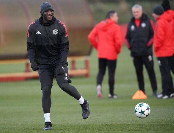 Нападающий Манчестер Юнайтед Ромелу Лукаку