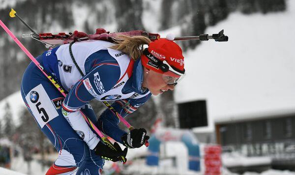 Биатлонистка сборной Чехии Ева Пушкарчикова