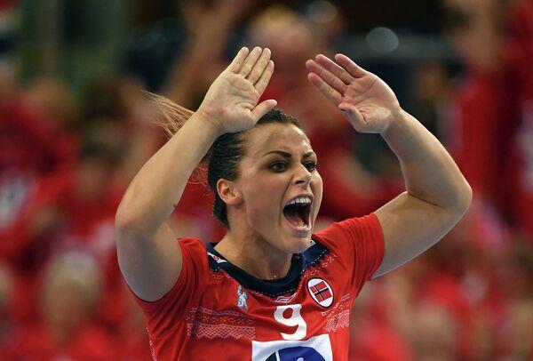 Гандболистка сборной Норвегии Нора Мёрк