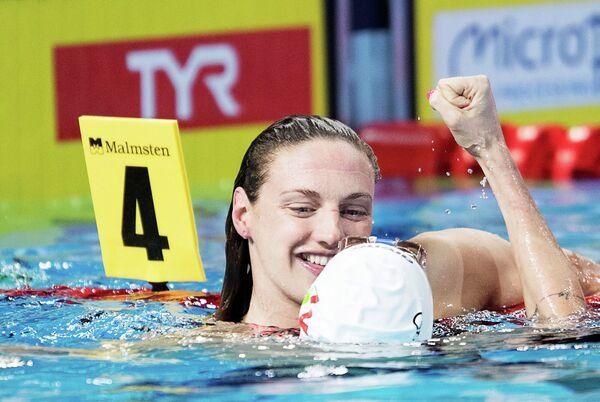 Венгерская пловчиха Катинка Хошсу