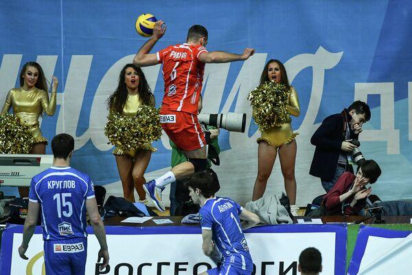 Игрок ВК Динамо Артём Ермаков