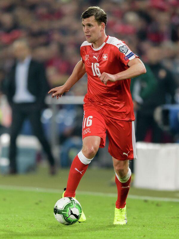 Полузащитник сборной Швейцарии по футболу Фабиан Фрай