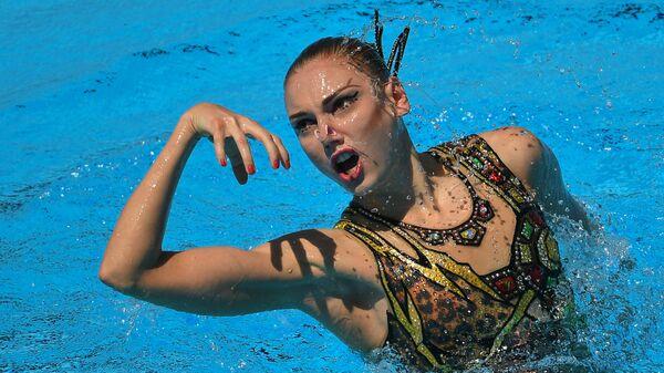 Колесниченко выиграла техническую программу соло на этапе Мировой серии