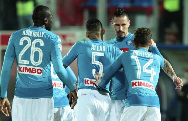 Футболисты итальянского Наполи