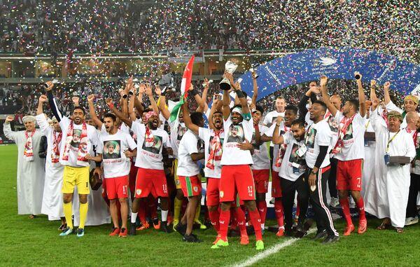 Футболисты сборной Омана